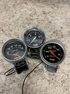 Autometer Gauges Fuel Vac Volts