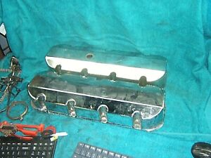 Big Block Chevy Bbc 396 427 454 502 Fabricated Aluminum Valve Covers Dragster