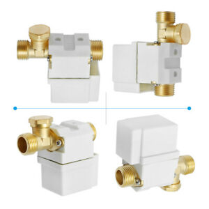 12v 1 2 Electric Solenoid Valve For Water Air Normally Closed Us Stock