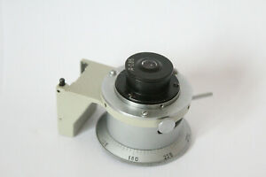 Lomo Microscope Polarising Condenser Polam Petrographic With Holder A0 85