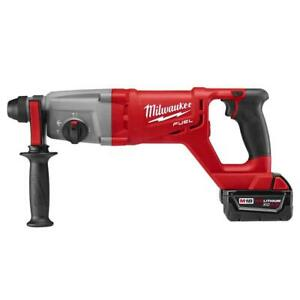 2713 20 Milwaukee M18 Fuel Lithium ion 1in Sds plus D handle Rotary Hammer Tool