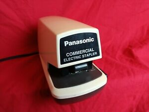 Panasonic Commercial Electric Stapler Model As 300n Tested Works