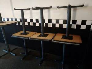 Restaurant Equipment Table With Two Padded Chairs Set