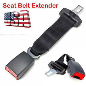 Universal Car Auto Safety Seat Belt Extender Seatbelt Extension Strap Buckle Us