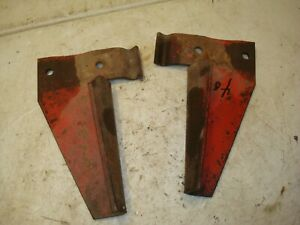 Ford 8n 9n 2n Tractor Dearborn Front Mounted Blade Snow Plow Guide Brackets