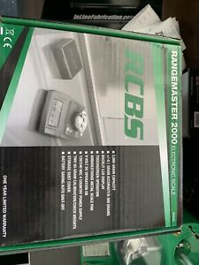 RCBS Range master 2000 Electric Scale New In Box. $175.00