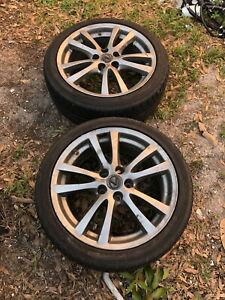 Lexus Is250 Front Wheels With Tires 18