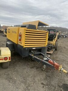2005 Atlas Copco Xas756jd Air Compressor Runs Video