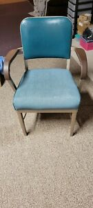 Vintage Interroyal Office Chair With Arms Solid Construction