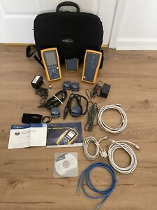 Fluke Networks Dtx 1800 Cable Analyzer Network Testing Kit Smart Remote
