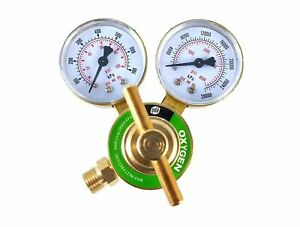 S a Oxygen Regulator Welding Gas Gauges Cga 540 Rear Connector Ldb Se