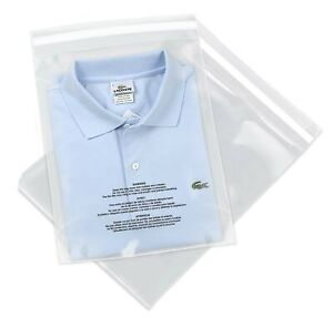 Spartan Industrial 12 X 18 100 Count Self Seal Clear Poly Bags With Suf