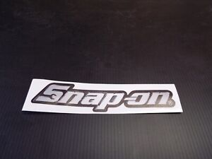Snap On Tools Sticker On Clear