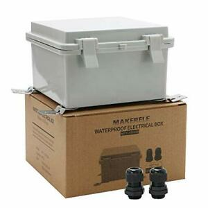 Weatherproof Outdoor Box Electrical With Wall Bracket 5 9 5 9 3 5