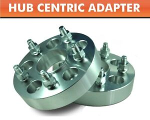 2 Hub Centric Wheel Adapters 5x135 Expedition F150 Navigator New Spacers 1 5