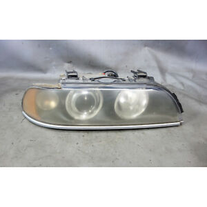 Damaged 2001 2003 Bmw E39 5 series Right Front Passeng Xenon Headlight White Oem