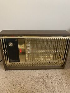 Vintage Mid Century Arvin Heater Fan Forced 1650 Watts 30h20 Works Great Usa