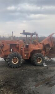 Ditch Witch R100 Rock Saw Trencher Runs Video