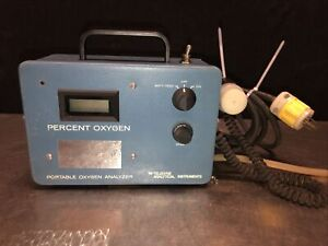 Teledyne Portable Oxygen Analyzer No Power Offered For Parts not Working