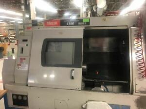 Mazak Super Quick Turn Sqt 18m Mark Ii Cnc Lathe 1995 Live Tools Parts Catch