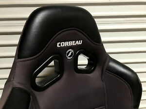 Corbeau A4 Wide Passenger Front Reclining Racing Seat Universal Bottom Mount
