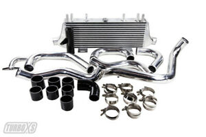 Turbo Xs 02 05 For Wrx For Sti Fm Intercooler use Factory Bov crashbeam Built