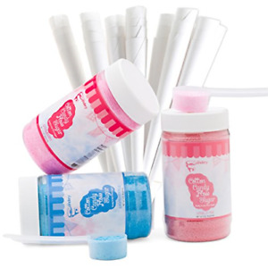 The Candery Cotton Candy Floss Sugar 3 pack Includes 100 Premium Cones 3 pack 50