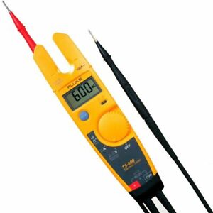 Fluke T5 600 Voltage Continuity And Current Tester With Openjaw trade