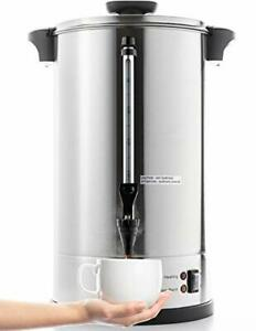 Sr cp100c Commercial Grade Stainless Steel Percolate Coffee Maker Hot 16 L