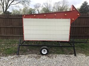 Portable Marquee Changeable Letter Sign 4 x8 With Trailer Option Package