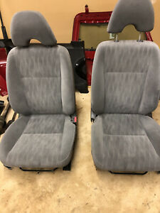 2002 2005 Honda Civic Front Bucket Seats Gray