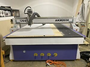 New Cnc Router Table 6ft X 10ft Liquid Cooled Spindle