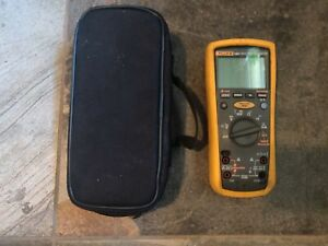 Fluke 1587 Insulation Tester Multimeter Case Fully Tested