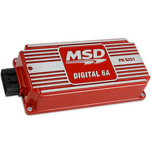 Msd 6201 6a Ignition Control Box Digital Multiple Spark Sbc Bbc Sbf Chevy Ford