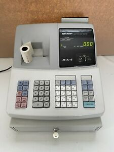 Sharp Electronic Cash Register Xe a21s With Drawer