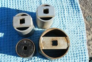 4 Large Axle Sockets 2 2 9 16 1 4 1 2 All 3 4 Drive 1 2 1 2 1 2 Drive