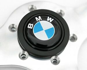 Horn Button For Bmw Momo Sparco Omp Nrg Steering Wheel E28 E30 2002 E36 M3 Z3 Z4
