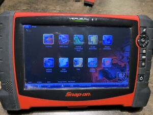 Snap on Verus Pro D10 Eehd3016 Automotive Diagnostic Scan Tool 18 2 Update