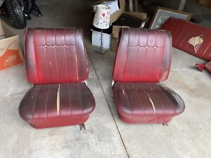 1966 Corvair Bucket Seats Also Fits Gm Chevelle Gto