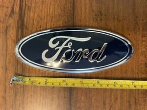 7 Inch 7 Blue Chrome Ford Emblem Fits Many Models Listed In Description