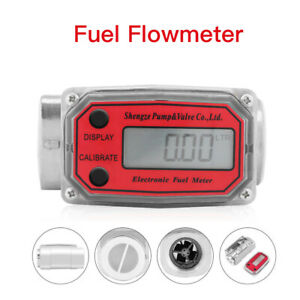 Digital High Accuracy Flow Meter For Measuring Gasoline Chemicals Measure Tool