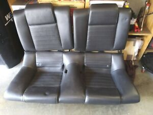 05 06 07 08 09 Ford Mustang Rear Oem Seats Gt Coupe Leather
