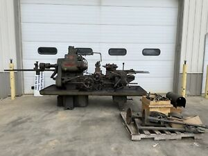 Warner Swasey Turret Lathe Number 5 With A Pallet Of Tooling