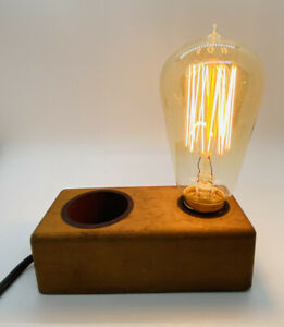 Rare Vintage Light Bulb Tester Table Lamp