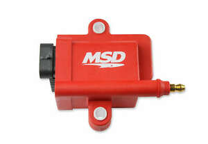 Msd Ignition Coil Smart Coil Red Individual 8289