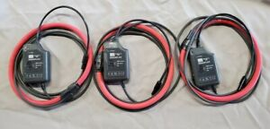 Dranetz bmi 3k24 Flexible Current Probes Rogowski Coil Rope Cts Qty Of 3