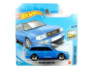 2021 Hot Wheels 157 1994 Audi Avant Rs2 blue Factory Fresh