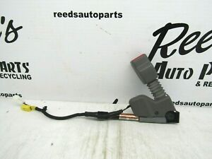 2008 Honda Civic Coupe Right passenger Seat Belt Buckle Gray