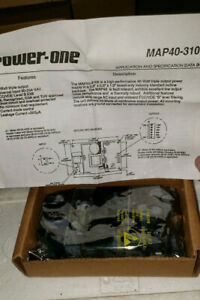 Power one Map40 3100 high Performance 40w Triple Output Power Supply