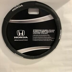 Honda Sport Grip Synthetic Leather Car suv truck Steering Wheel Cover New